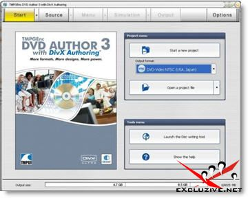 TMPGEnc DVD Author 3 with DivX Authoring 3.1.1.174