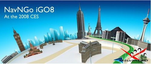 iGO 8 — новая версия навигационной программы c 3D картографией
