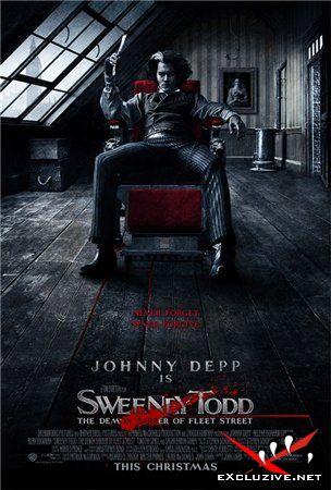 Суини Тодд, демон-парикмахер с Флит-стрит / Sweeney Todd: The Demon Barber of Fleet Street (2007) CAMRip