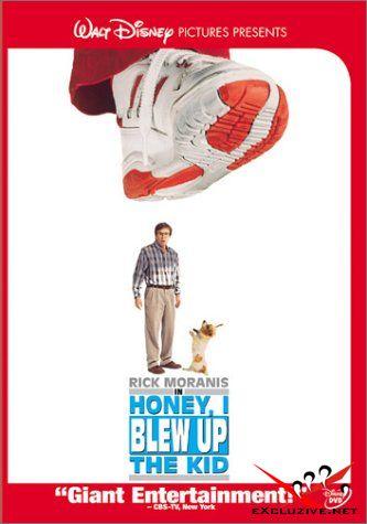 Дорогая, я увеличил ребенка / Honey, I Blew Up The Kid [1992, Комедия, Детский-Семейный, DivX/XviD DVDRip]