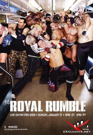 WWE: Royal Rumble 2008 (HDTVrip)
