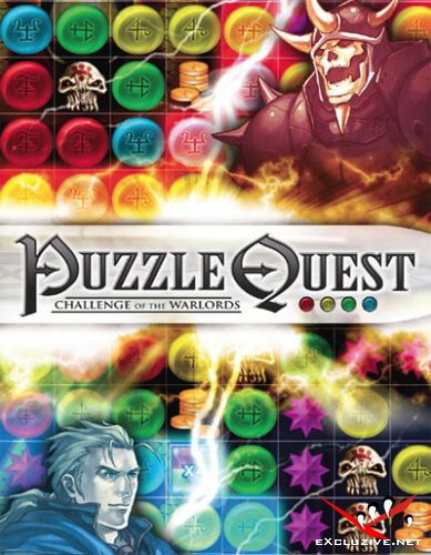 Puzzle Quest: Challenge of the warlords [2007, RPG / Logic, английский]