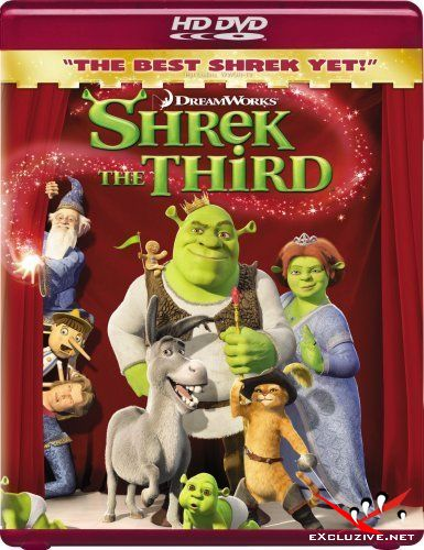 Шрек Третий / Shrek the Third (2007) HDRip [HQ-ViDEO]