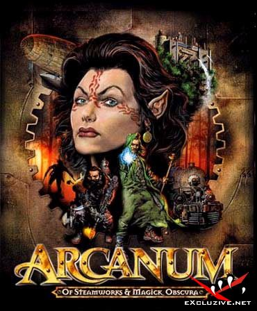 Arcanum Of Steamworks and Magick Obscura(Rus.Fargus.v1.0.7.0) 2 CD