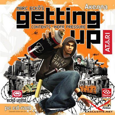 Marc Ecko's Getting Up: Contents Under Pressure [2006, Action / 3D / 3rd Person / Stealth, русский / английский]