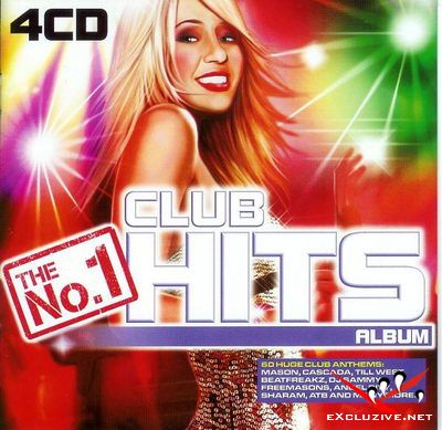VA - The No.1 Club Hits Album - 4CD (2008)