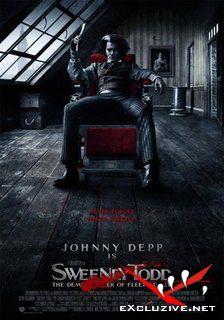 Суини Тодд, демон-парикмахер с Флит-стрит / Sweeney Todd: The Demon Barber of Fleet Street (2007) DVDScr