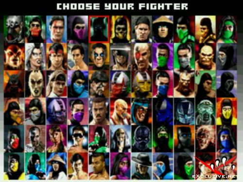 MUGEN Mortal Kombat Project 4.3