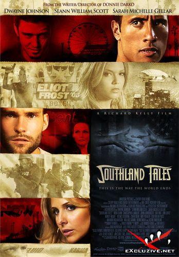 Истории юга / Southland Tales (2006) DVDRip