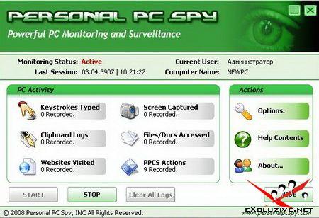 Personal PC Spy v1.9.7