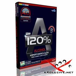 Alcohol 120% Black Edition 4.0 (Multilanguage)