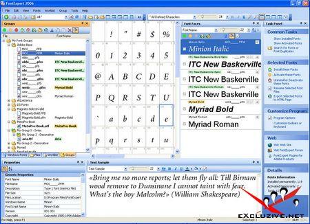 FontExpert 2007 v9.00 Release 5