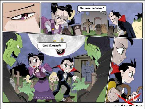 Дети Дракулы / Dracula Twins (полная версия)