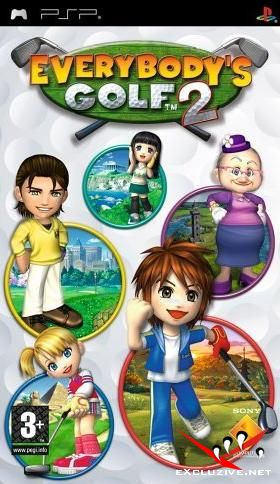 Everybodys Golf 2 (PSP)