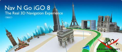 Nav N Go iGO v8.0.0.31442 Final (Multilanguage/2008) для КПК и GPRS-навигаторов