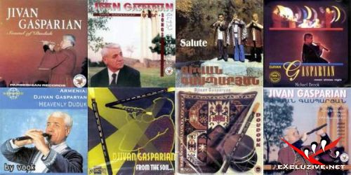 Дживан Гаспарян - 16 альбомов