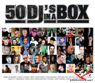 50 Dj's In A Box - 3CD (2008) MP3