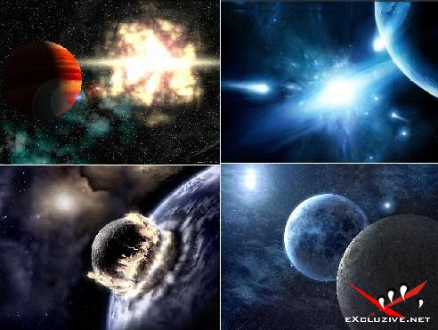Обои с изображением космоса (1024х768 и 1280х960)