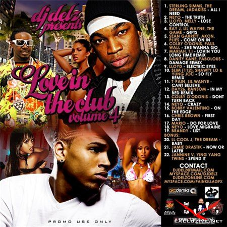 DJ Delz - Love In The Club Vol. 4 (2008)