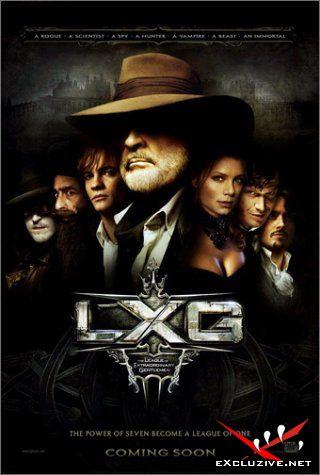 Лига выдающихся джентльменов/League of Extraordinary Gentlemen, The(2003)DVDRip