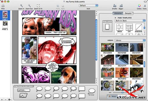 Comic Life Deluxe v1.3.6 build 71 (for Windows) .