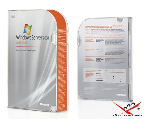 WINDOWS SERVER 2008 WITH SP2 x86 + x64 RTM VOLUME RUSSIAN-WZTiSO