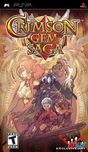Crimson Gem Saga (2009/ENG/PSP)