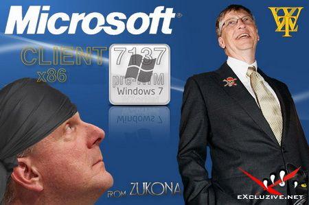 Windows 7 Build 7137.0.090521-1745 x86 EN/RU