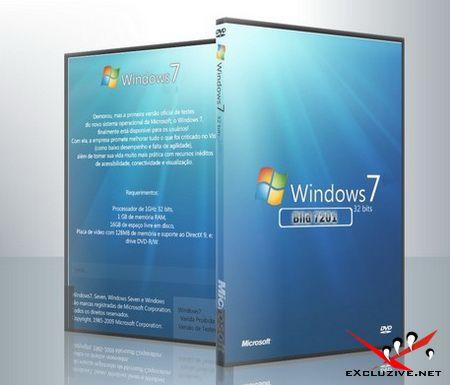 Windows 7 7201 x86+Virtual+localpacks+DreamScene Ultimate RU (от TelovozWAREZ&xalex)