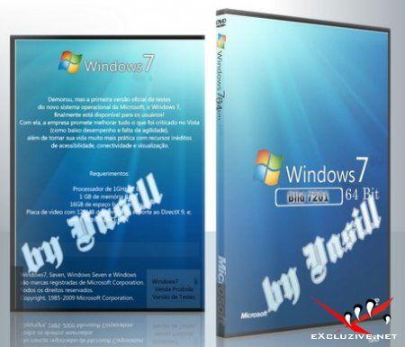 Windows 7 Build 7201.0.090601-1516 x64 IDX (RC2) EN/RU (by vasill)