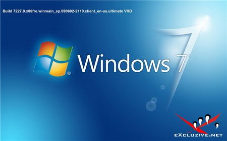Microsoft Windows 7 Build 7227 x86 (VHD)