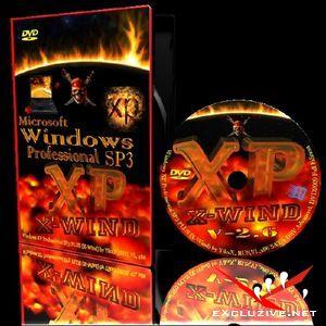 Windows XP Professional SP3 PLUS (X-Wind) by YikxX RUS VL x86 [версия 2.6,14.09.2009)