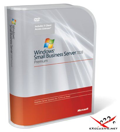 Microsoft Windows Small Business Server 2008 Standard and Premium Installation [Русский]