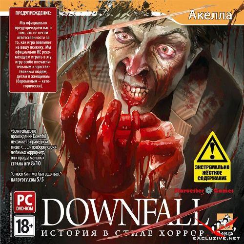 DOWNFALL: История в стиле хоррор (2010/Акелла/RUS)