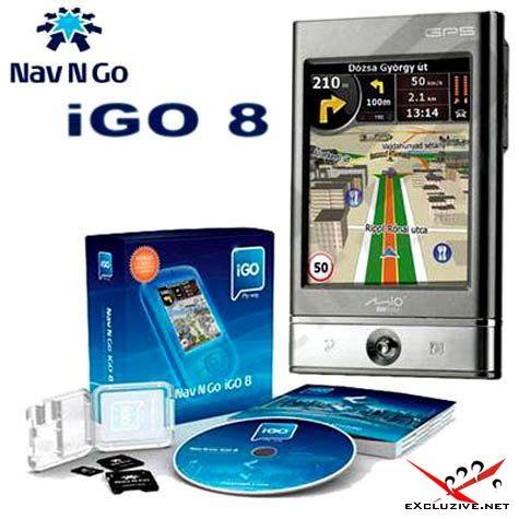 Навигационная система iGO 8.3.4.102680. С комплектом карт России, Украины и всего Мира (21.02.2010)