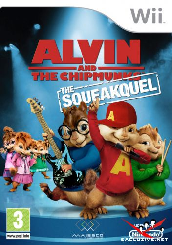 Alvin and the Chipmunks: The Squeakque / Элвин и Бурундуки 2 :Сиквел [PAL, ENG]