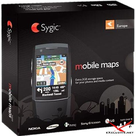 Sygic Mobile Maps Europe 8.0.1 for iPhone (2010)