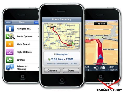 TomTom Europe 1.3 for iPhone. В комплекте карты России, Западной и Восточной Европы (2010)
