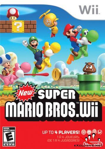 New Super Mario Bros (Wii) RUS/PAL