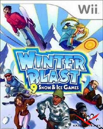 Winter Blast: 9 Snow and Ice Games (NTSC/ENG/Scrubbed)