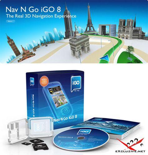 Nav N Go iGO 8.3.4.102680. В комплекте карты России, Украины и всего Мира (08.06.2010)