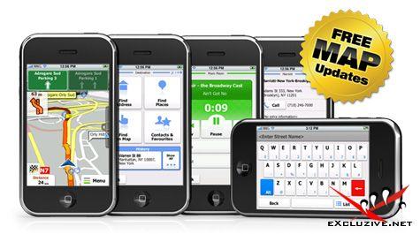 iGO My way Russia 1.1.2 for iPhone. В комплекте карта от Navteq с контурами домов (2010)
