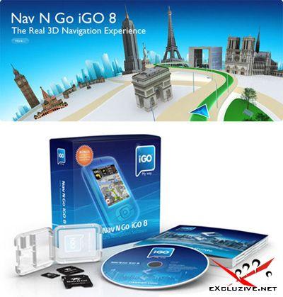 Nav N Go iGO 8.3.4.102680. В комплекте карты России, Украины и всего Мира (27.06.2010)