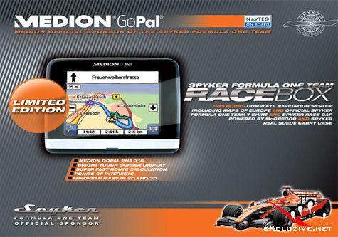 Gopal PE 5.5. В комплекте карта Europe Navteq Q2 (2010)