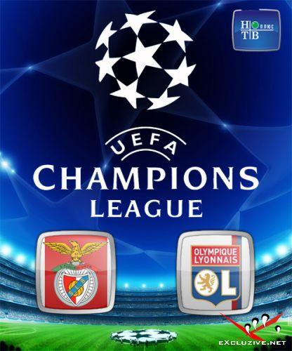 "Лига Чемпионов 2010-11. 4-й тур. Группа ""B"". Бенфика Португалия – Лион Франция (2010) SATRip"