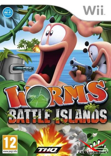 Worms: Battle Islands (2010/PAL/ENG/Wii)