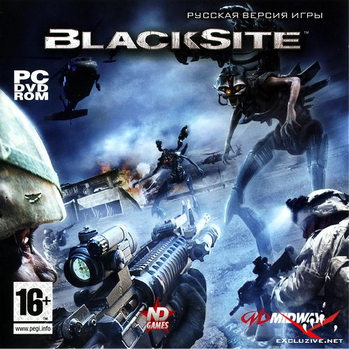 BlackSite: Area 51 (2007/RUS/RePack by R.G. ReCoding)