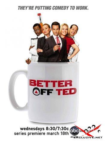 Везунчик Тед / Better Off Ted /1-2 сезоны / (2009) DVDRip