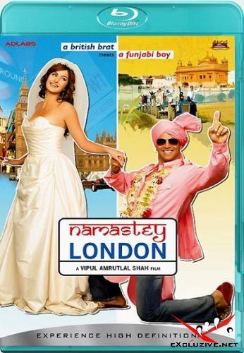 Здравствуй, Лондон! / Namastey London (2007) HDRip