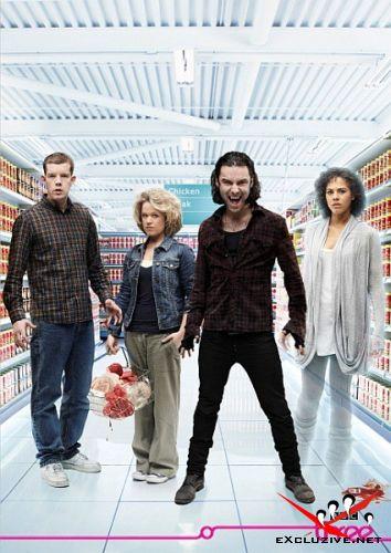 Быть Человеком / Being Human (2011/HDTVRip/3 сезон)